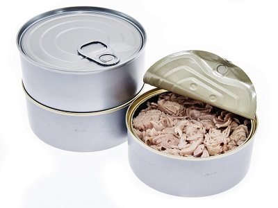 Canned Tuna Chuck Fish in vegetable oil, in salt water/brine, in sunflower oil