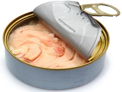 Canned Tuna Solid Fish in vegetable oil in salt water Fbrine in sunflower oil