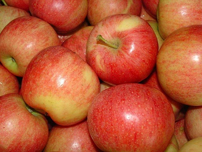 Fresh Green & Red Apples